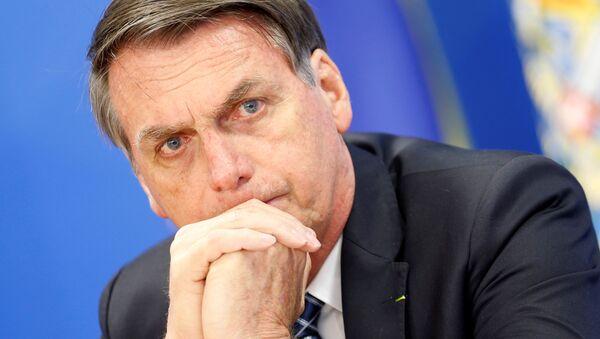 Jair Bolsonaro, presidente de Brasil - Sputnik Mundo
