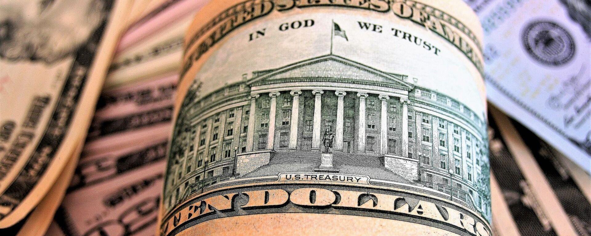 Dólares de EEUU - Sputnik Mundo, 1920, 07.04.2021