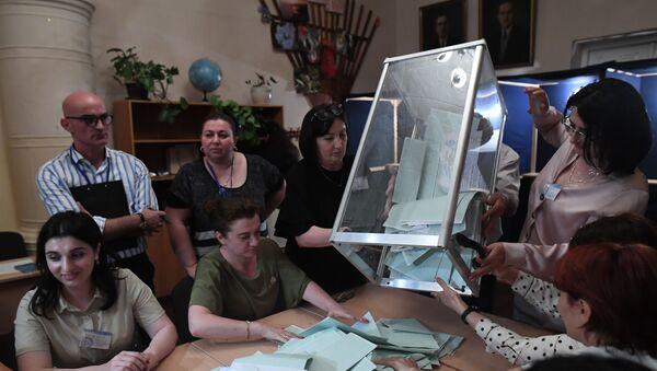 Las elecciones presidenciales en Abjasia - Sputnik Mundo