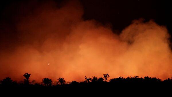 Incendios forestales en Brasil - Sputnik Mundo
