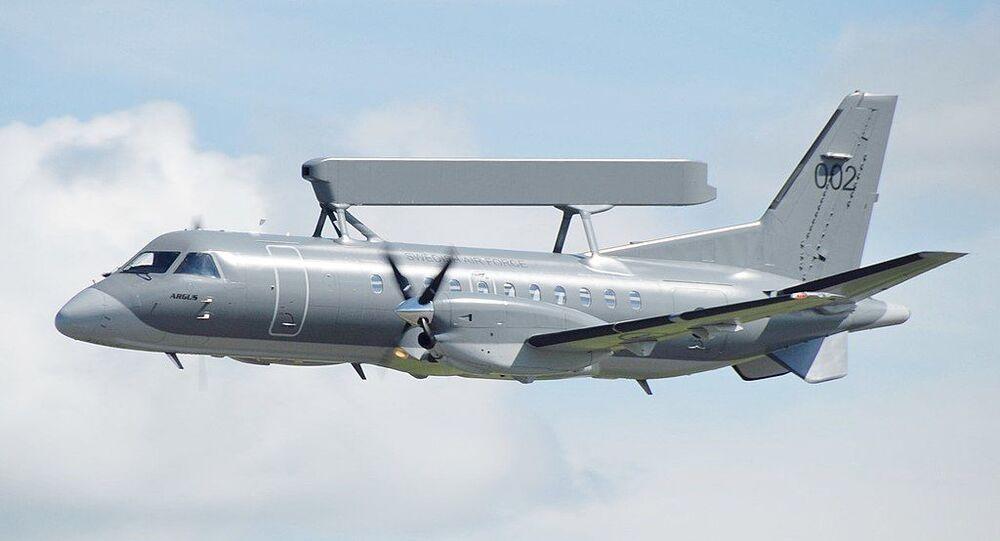 Saab-340 sueco