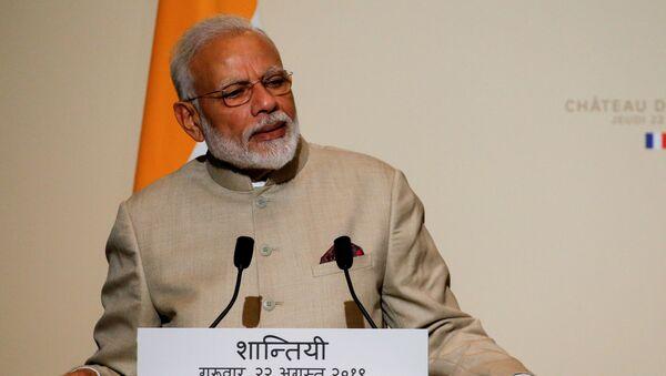 Narendra Modi, primer ministro indio - Sputnik Mundo