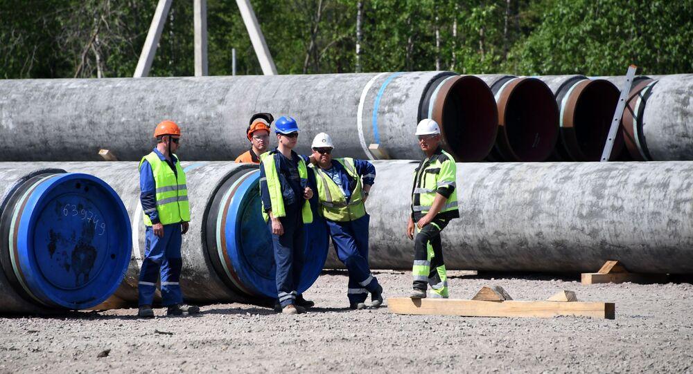 La construcción del Nord Stream 2