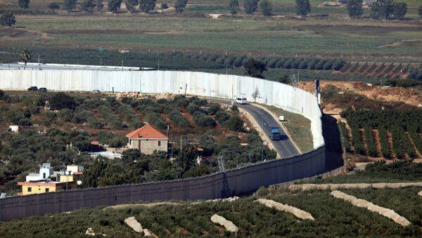 La frontera de Líbano e Israel - Sputnik Mundo