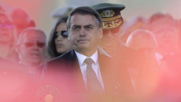 El presidente brasileño, Jair Bolsonaro - Sputnik Mundo