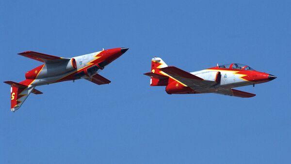 Los aviones del modelo C-101 (imagen referencial) - Sputnik Mundo