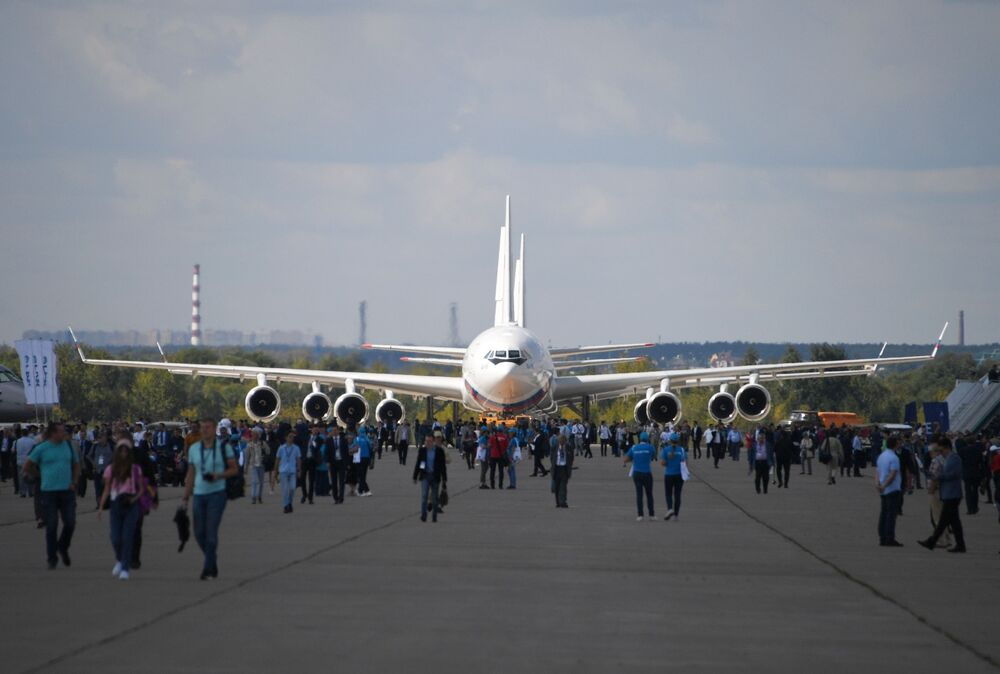 El Salón Aeroespacial MAKS 2019 abre sus puertas