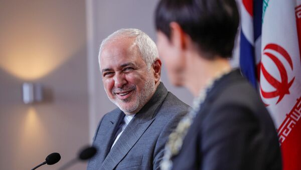 El ministro de Exteriores iraní, Mohamad Yavad Zarif - Sputnik Mundo