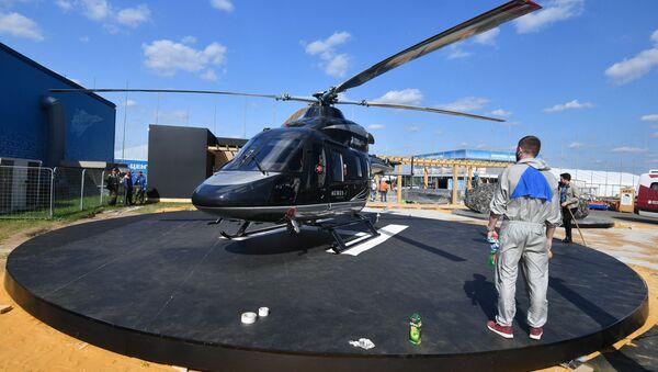 Helicóptero Ansat al estilo Aurus - Sputnik Mundo