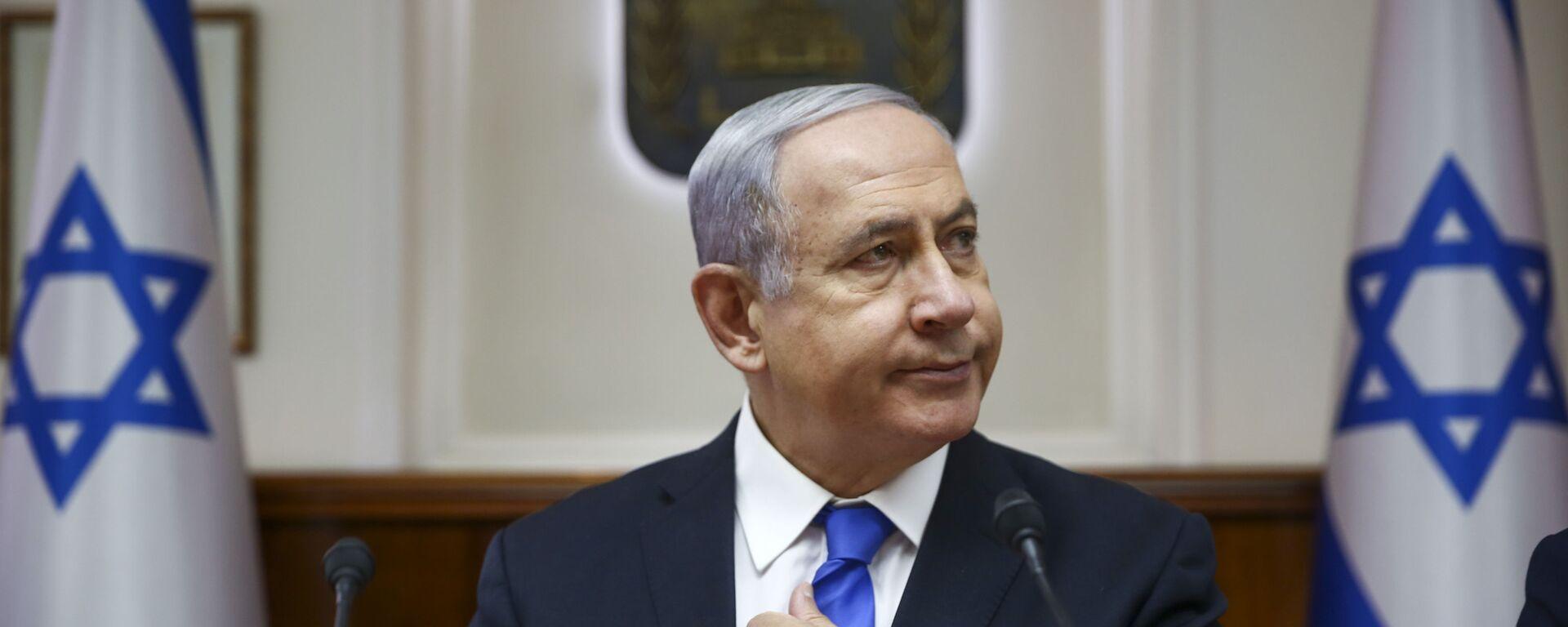 El primer ministro israelí, Benjamín Netanyahu - Sputnik Mundo, 1920, 15.11.2020