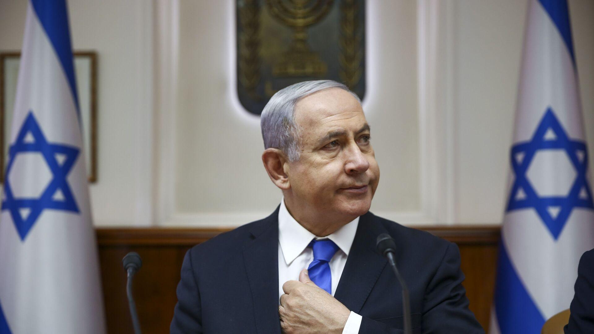 El primer ministro israelí, Benjamín Netanyahu - Sputnik Mundo, 1920, 07.06.2021