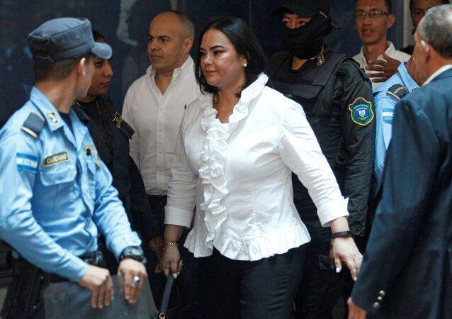 Rosa Elena Bonilla, ex primera dama de Honduras