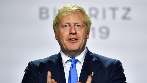 El primer ministro del Reino Unido, Boris Johnson - Sputnik Mundo