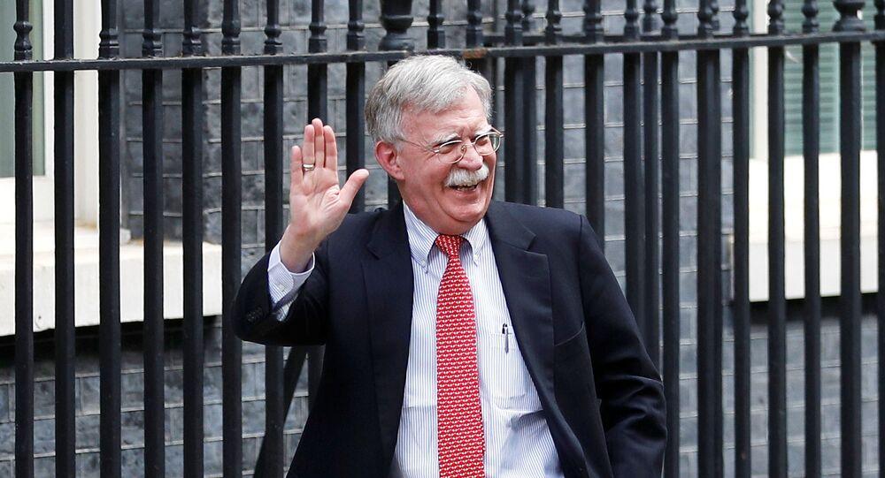 El asesor presidencial de EEUU para seguridad nacional, John Bolton
