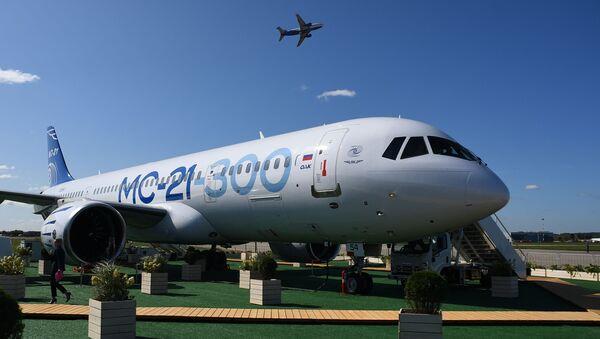 Avión de pasajeros ruso MC-21 - Sputnik Mundo