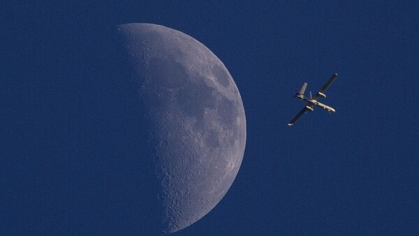 Un dron de Israel (Archivo) - Sputnik Mundo