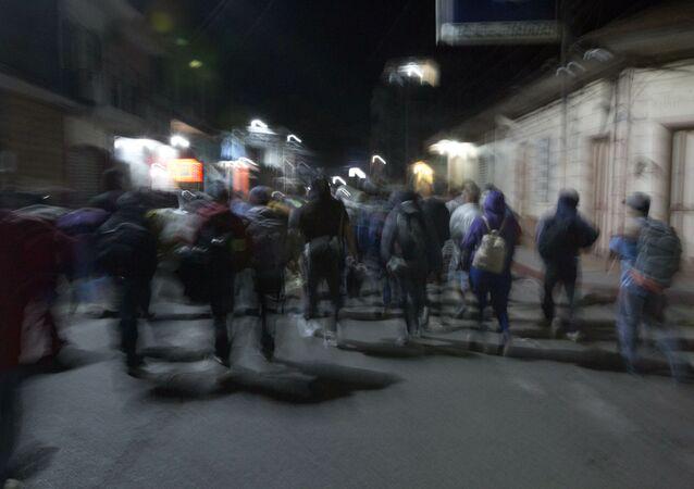 Migrantes centroamericanos (Archivo)