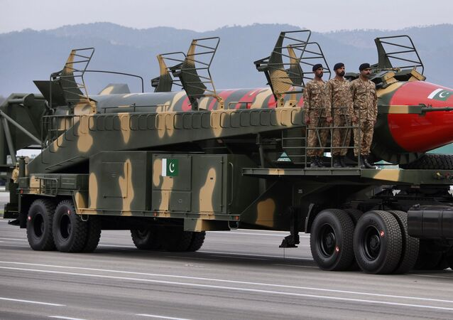 Un misil pakistaní