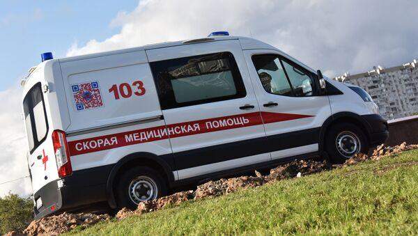 Un coche de Ambulancia de Moscú - Sputnik Mundo