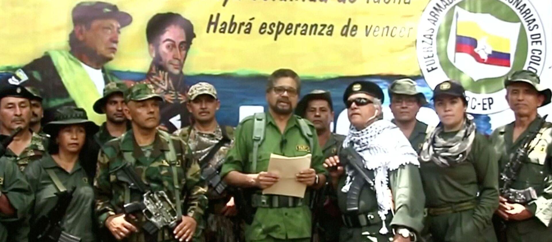 El excomandante de las FARC, Iván Márquez, anuncia que retoma la lucha armada  - Sputnik Mundo, 1920, 30.08.2019