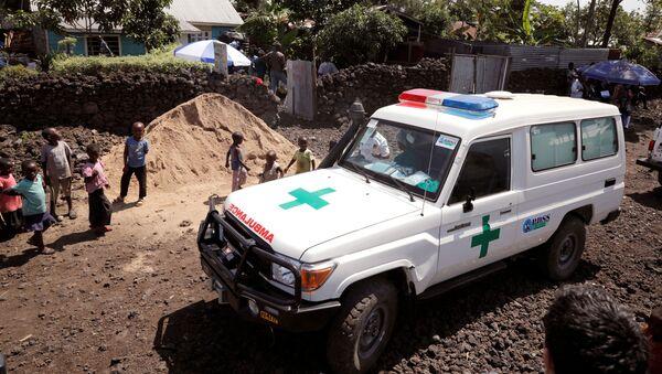 Una ambulancia en la República Democrática del Congo - Sputnik Mundo