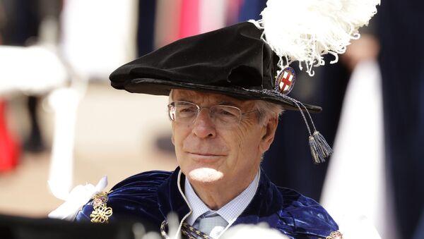 El ex primer ministro británico, John Major - Sputnik Mundo