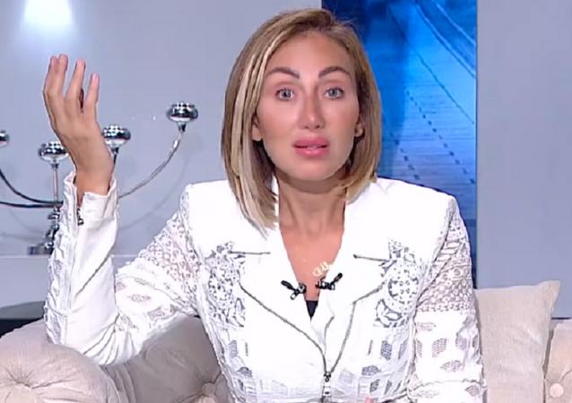 Riham Said, presentadora de la televisión egipcia