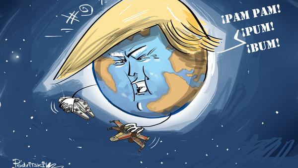 ¿Se aproxima una guerra de las galaxias? EEUU se prepara para militarizar el espacio  - Sputnik Mundo