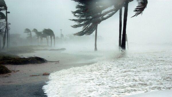 Un huracán (imagen referencial) - Sputnik Mundo