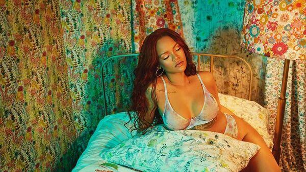 Rihanna, cantante barbadense - Sputnik Mundo