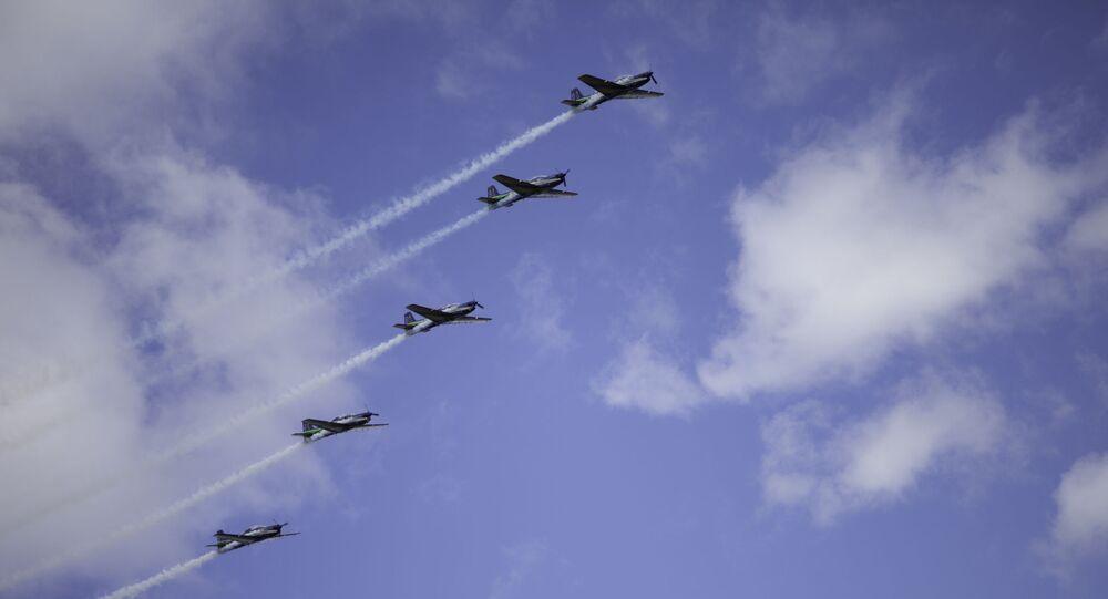 Aviones de la Fuerza Aérea uruguaya