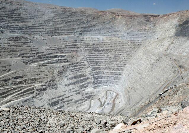 Mina de cobre en Chuquicamata, Chile