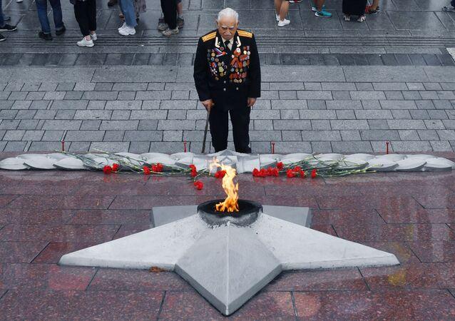 El veterano de la II Guerra Mundial (archivo)