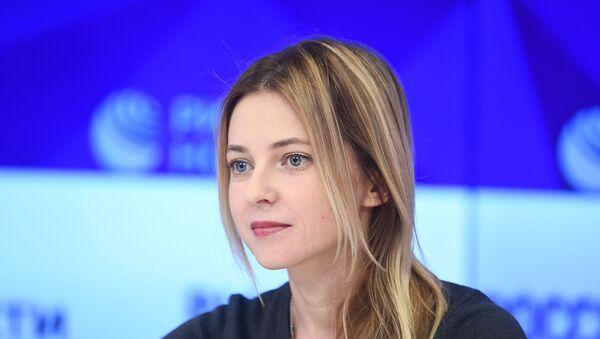 La diputada de la Duma Natalia Poklónskaya - Sputnik Mundo