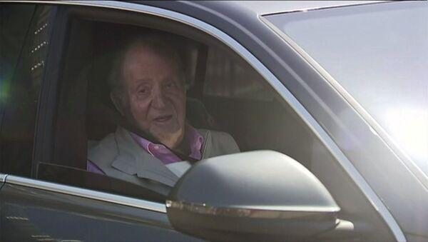 Juan Carlos, rey emérito de España - Sputnik Mundo