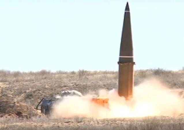 Así estalla el misil táctico Iskander (vídeo)