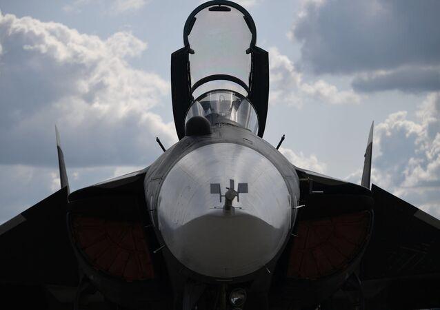 El caza Su-47 Berkut