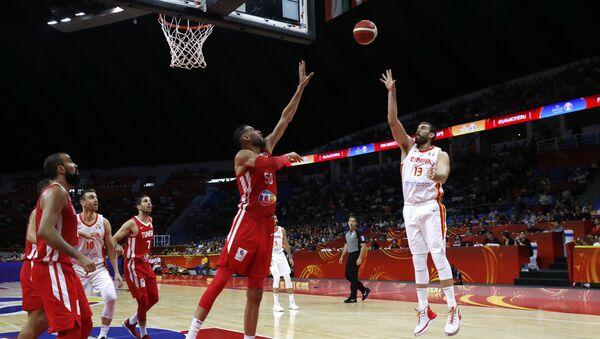 El partido de España contra Túnez en la FIBA - Sputnik Mundo