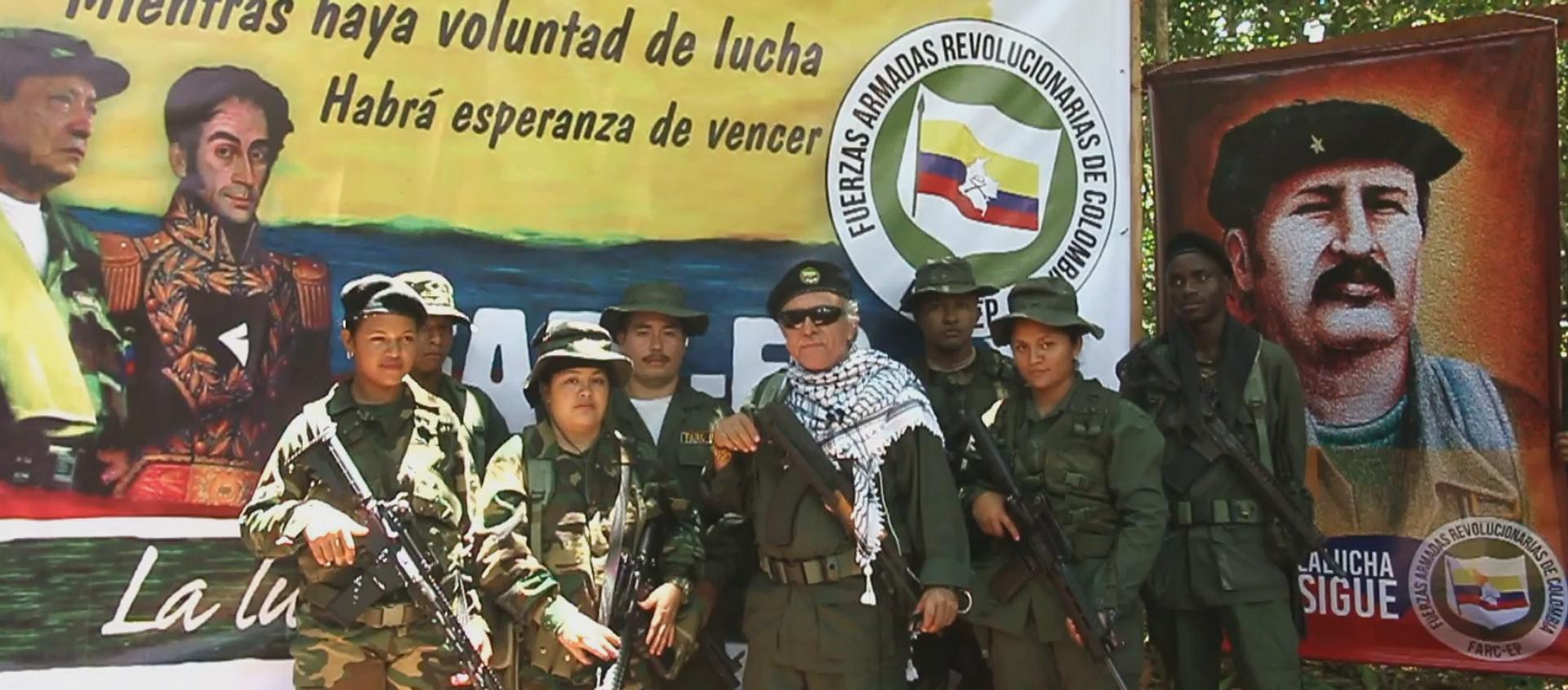 El líder de las FARC Jesús Santrich ofrece una nueva declaración el 31 de agosto de 2019 - Sputnik Mundo, 1920, 01.09.2019