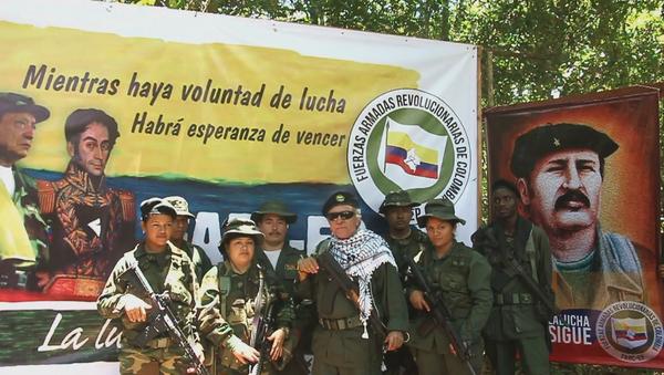 El líder de las FARC Jesús Santrich ofrece una nueva declaración el 31 de agosto de 2019 - Sputnik Mundo