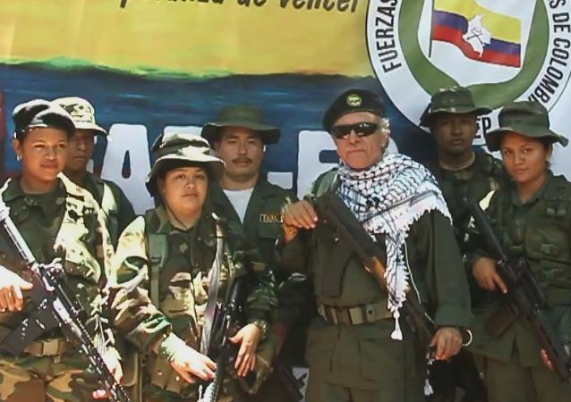 El líder de las FARC Jesús Santrich ofrece una nueva declaración el 31 de agosto de 2019