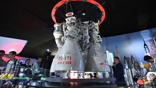 Motor para cohetes ruso RD-171 - Sputnik Mundo
