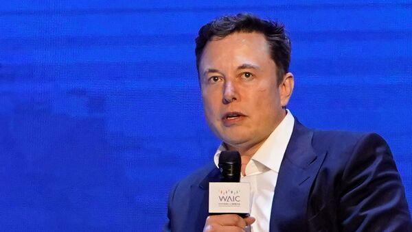 Elon Musk, CEO de Tesla, asiste a la Conferencia Mundial de Inteligencia Artificial en Shanghái - Sputnik Mundo