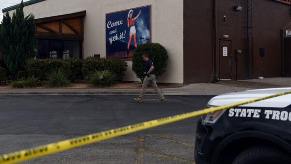 Lugar del tiroteo en Odessa, Texas - Sputnik Mundo