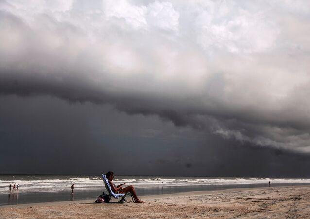 La llegada del huracán Dorian a las costas estadounidenses