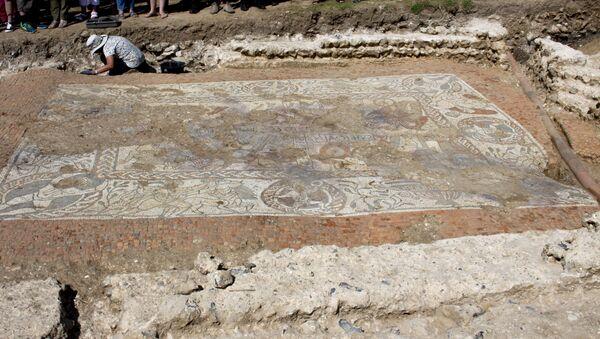 El mosaico romano de Boxford - Sputnik Mundo