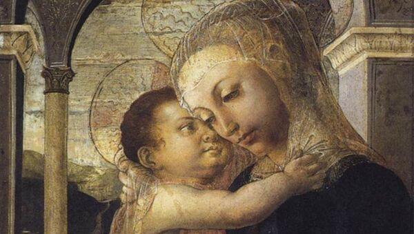 La 'Virgen de la galería', obra del Sandro Botticelli  - Sputnik Mundo