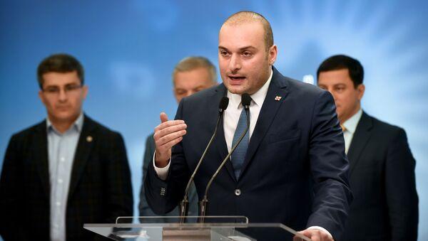 Mamuka Bajtadze, el primer ministro de Georgia - Sputnik Mundo
