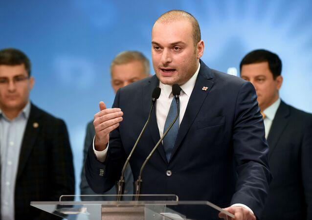 Mamuka Bajtadze, el primer ministro de Georgia