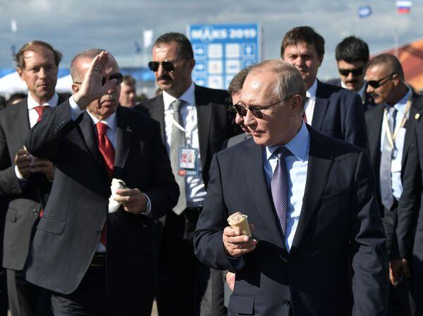 Las mejores instantáneas del salón aeroespacial MAKS 2019  - Sputnik Mundo